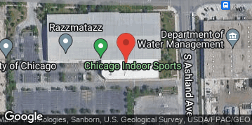 Locations for Late Fall 2020 Wednesday Coed 7v7 Rec @ Chicago Indoor Sports Turf Fields