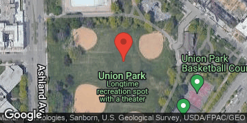 "Locations for Spring 2019 Tuesday Coed 16"" Rec @ Union Park"