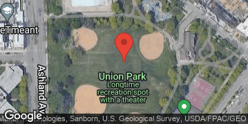"Locations for Spring 2019 Thursday Men's 16"" Rec @ Union Park"