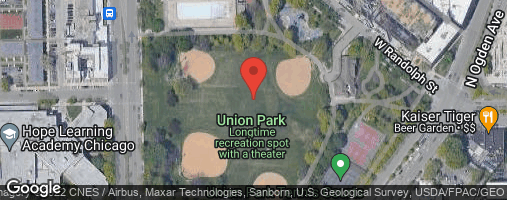 Locations for *NEW!* Fall 2020 Thursday Coed 6's (Rec or B) Grass Volleyball @ Union Park