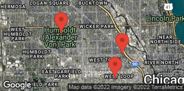 """Locations for Summer 2018 Tuesday Coed 12"""" Rec  @ Union Park"""