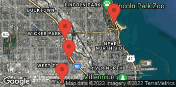 Locations for Late Summer 2018 Thursday Coed 10v10 Rec @ Union Park