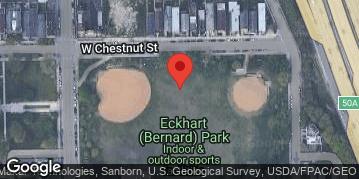 "Locations for Summer 2020 Tuesday Men's 12"" B @ Eckhart Park"