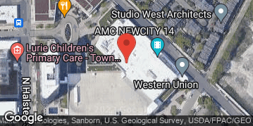 Locations for Fall 2019 Sunday 4v4 Bowling @ King's Bowl NewCity in Lincoln Park