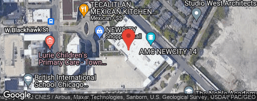 Locations for Late Fall 2020 Wednesday 4v4 Bowling @ King's Bowl NewCity in Lincoln Park