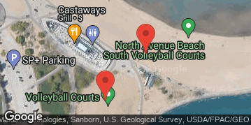 Locations for 7/28/19 Players Juniors Series #4 Volleyball Tournament @ North Avenue Beach