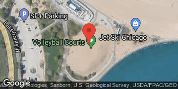 Locations for Summer 2019 Thursday Coed 6's (Rec or B) @ North Avenue Beach LIT COURTS