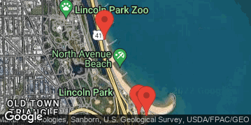 Locations for Early Summer 2019 Thursday Coed 6's (Rec or B) @ North Avenue Beach