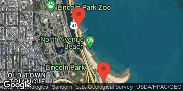 Locations for Late Summer 2019 Friday Coed 6's (Rec or B) @ North Avenue Beach