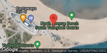Locations for 2019 Beach Slap Cornhole Tournament & North Avenue Beach Party