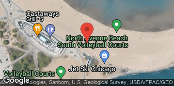 Locations for Summer 2020 Monday Coed 6's (Rec or B) @ North Avenue Beach