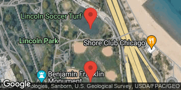 Locations for 2020 SnowBall Kickball Tournament @ North Avenue Fields