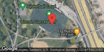 Locations for Spring 2021 Thursday Coed 8v8 (Rec or B) @ North Avenue Turf Fields