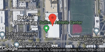 Locations for Winter 2020 Thursday Men's 5v5 Rec @ DePaul's McGrath-Phillips Arena in Lincoln Park