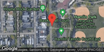 Locations for Fall 2019 Sunday Coed 5v5 Rec @ Hamlin Park Fieldhouse in Roscoe Village *Commonwealth Basketball League*