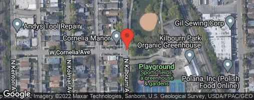 "Locations for Summer 2020 Thursday Men's 12"" B @ Kilbourn Park"