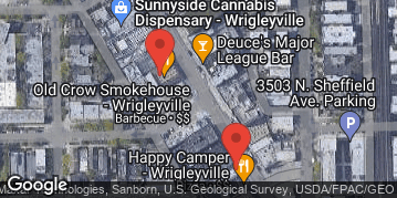 Locations for Fall 2019 Thursday 2v2 Cornhole @ Country Club (formerly Rebel Bar & Grill)