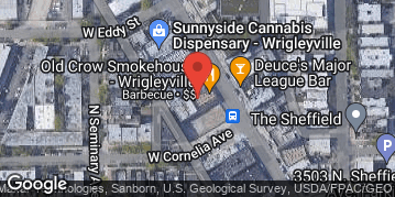 Locations for *NEW!* Winter 2022 Wednesday 2v2 Cornhole @ Old Crow Smokehouse in Wrigleyville