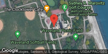 Locations for 2019 Luau Cornhole Tournament - Saturday 9/7/19 @ Sydney Marovitz Golf Course