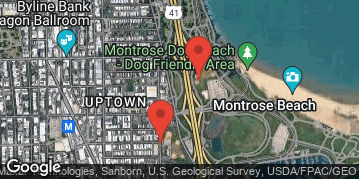 Locations for Fall 2020 Sunday Coed 8v8 Rec @ Margate/Clarendon Fields along the Lakefront