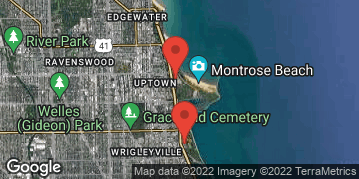 "Locations for Summer 2020 Thursday Men's 12"" Rec @ Waveland & Margate Fields along the Lakefront"