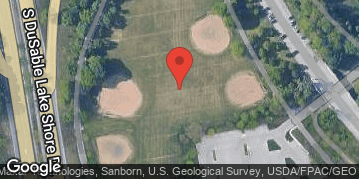 Locations for Fall 2021 Sunday Men's 7v7 Rec NON-CONTACT @ Margate/Lawrence Fields along the Lakefront