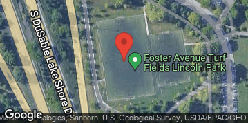 Locations for Spring 2021 Tuesday Coed 11v11 Rec @ Foster Turf Field