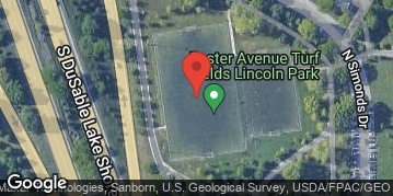 Locations for Spring 2020 Tuesday Coed 11v11 Rec @ Foster Turf Field