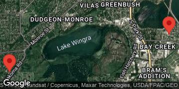 Locations for Winter Thursday Dodgeball - Central