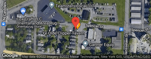 Locations for Spring/Summer 2020 Monday Night Corn Hole @ Ye Old Clipper Tavern