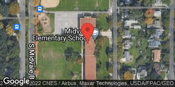 Locations for Winter Wednesday Volleyball - Midvale
