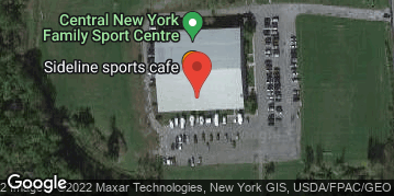 Locations for 2020 Indoor Flag Football Friday nights at CNY Family Sports Centre