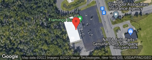 Locations for 2020 Monday Night Bowling @ Flamingo -  7:15 start