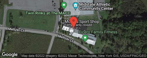 Locations for 2020 Wednesday @ Cicero Family Fitness