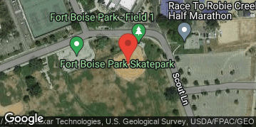 Locations for Monday/Wednesday Kickball @ Fort Boise