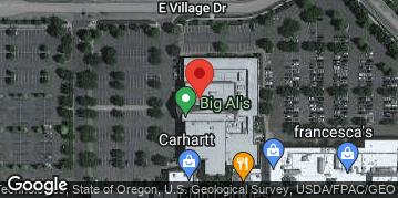 Locations for Thursdays at Big Al's Fall '19