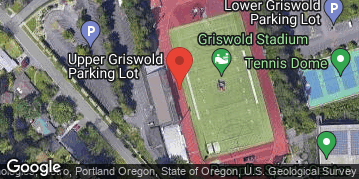 Locations for Winter Co-ed Flag Football at Lewis and Clark Sundays