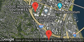 Locations for Winter Co-ed Kickball at Portland State Sundays