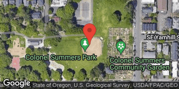 Locations for Summer Softcore Kickball at Col Summers Tue/Thur