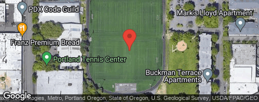 Locations for Fall Co-ed Flag Football at Buckman Park Saturdays
