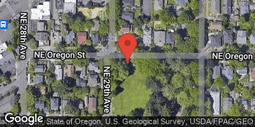 Locations for Summer Co-ed Grass Volleyball at Oregon Park Mondays