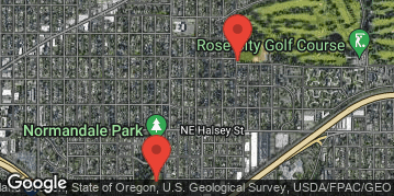 Locations for Summer Co-ed Softball at Rose City Park Sundays