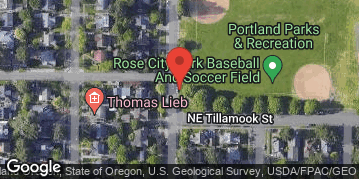 Locations for Spring Co-ed Softball at Rose City Park Sundays