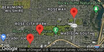 Locations for Red Rubber Showdown 4 - Kickball Tournament