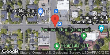 Locations for Spring Co-ed Kickball at Peninsula Park Sundays