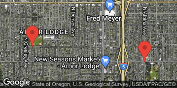 Locations for Spring Co-ed Kickball at Arbor Lodge/Peninsula Park Sundays