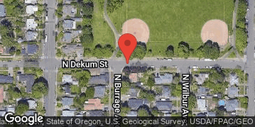 Locations for Summer Softcore Kickball at Arbor Lodge Park Tuesdays