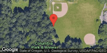 Locations for Summer Softcore Kickball at Columbia Park (North Portland) Wed/Thur