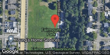 Locations for Summer Softcore Kickball in West Seattle Mondays/Wednesdays