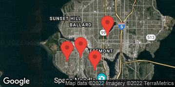 Locations for Summer Co-ed Softball at Queen Anne/Interbay Tuesdays/Thursdays